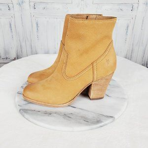 Frye Essa Leather Bootie Boots
